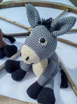 Pedro the Amigurumi Donkey | PDF Crochet Pattern – AiraliDesign | 403x300