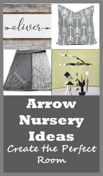arrow nursery ideas - boy room ideas - amorecraftylife.com #nursery #baby