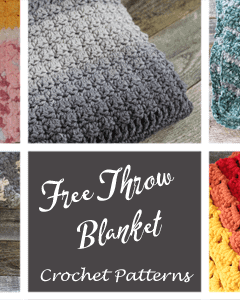 throw crochet pattern easy - amorecraftylife.com - afghan pattern -crochet blanket pattern- caron chunky cake yarn- herringone bone double crochet - free printable crochet pattern #crochet #crochetpattern #freecrochetpattern
