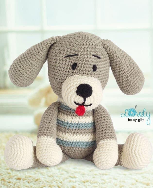 amigurumi dog crochet patterns - puppy crochet pattern pdf - amorecraftylife.com amigurumi #crochet #diy