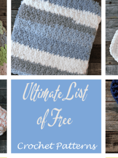 Ultimate list of free crochet patterns - amorecraftylife.com - #crochet #crochetpattern #freecrochetpattern