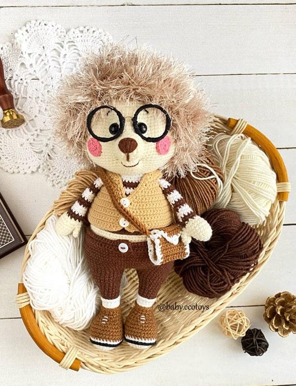 crochet hedgehog patterns - amigurumi crochet pattern - amorecraftylife.com #crochet #crochetpattern #diy #amigurumi