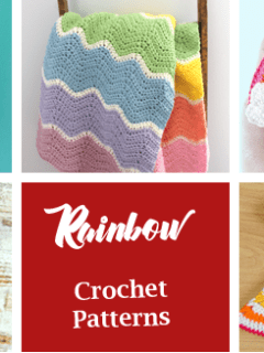 rainbow crochet pattern - amorecraftylife.com #crochet #crochetpattern