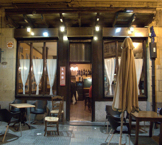 bar restaurante lar bilbao