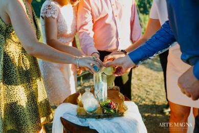 Marius&Diana Douro Elopement - Destination Wedding sand ceremony