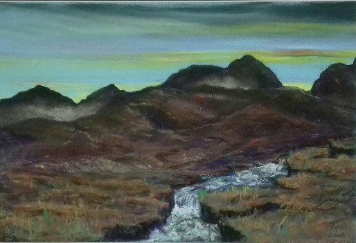 Scotland artist from Fife Christopher Amos (amosartworks)