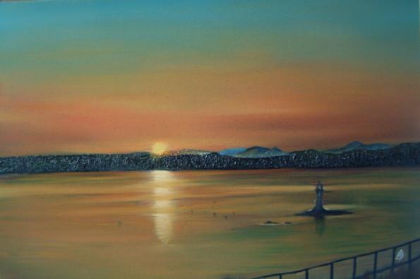 Artist from Scotland Christopher Amos (Amosartworks)