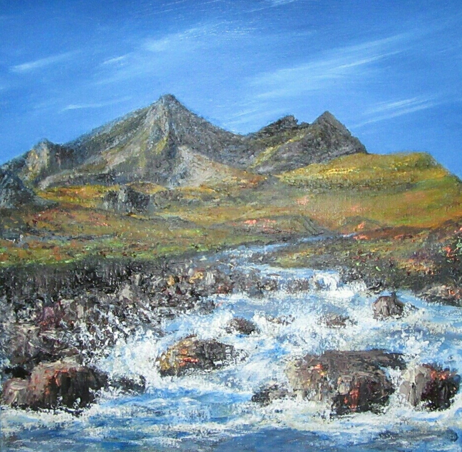 The Burn Of Sgurr Nan Gillean (Sold)