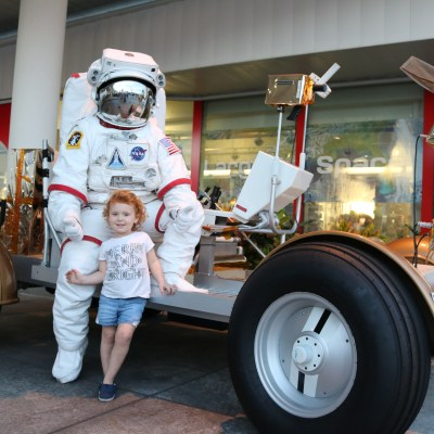 Kennedy Space Center: Mom Calls Me a Space Cadet