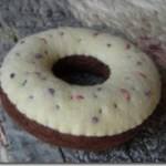 felt craft donut