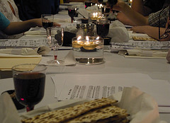 Community Seder Table