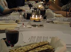Community Seder Table