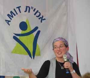 Dr. Jennie Rosenfeld, spiritual leader of Efrat