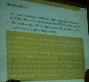 Divorce case B v. J Slide 3 by Faigenbaum