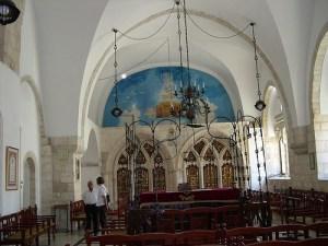 Sephardic synagogue in Jerusalem