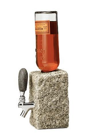 cognac rock dispenser