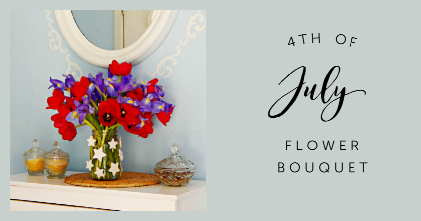 4th of July Flower Bouquet