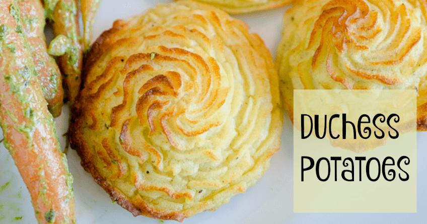 Duchess Potatoes Will Dress Up Any Meal [Recipe] 1