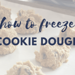 3 Ways to Freeze Cookie Dough 1
