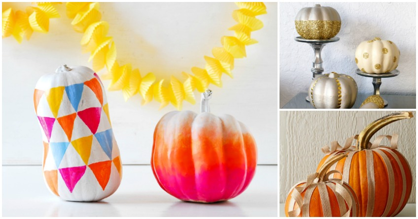 5 Chic Halloween Pumpkin Decorating Ideas
