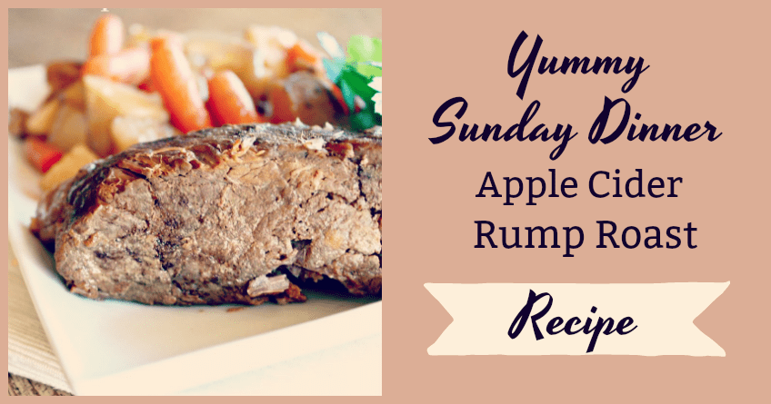Slow-Cooked Apple Cider Rump Roast [Recipe]