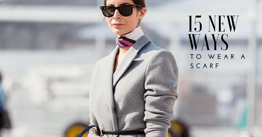 Wearing a Scarf This Fall is Great Way to Update Your Look 3