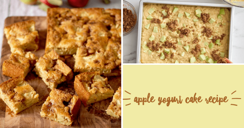 Moist Yogurt Apple Cake [Recipe]