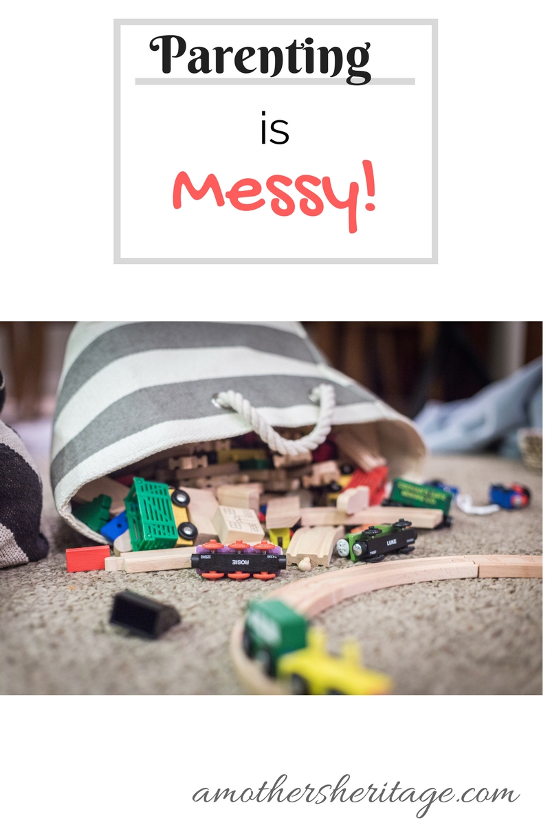 Parenting isMessy