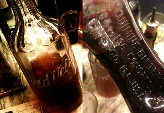 TB Old velvet and Quinine bitters