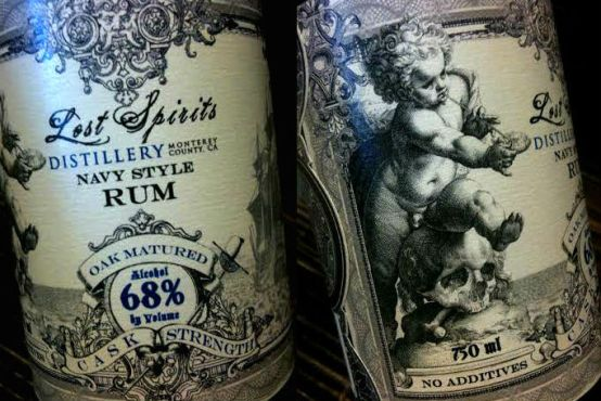 Lost Spirits Navy Rum Labels