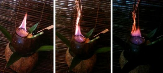 Flaming Coconut Punch