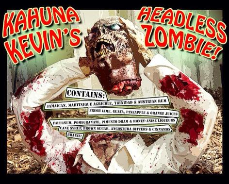 Kahuna Kevins Headless Zombie Flyer
