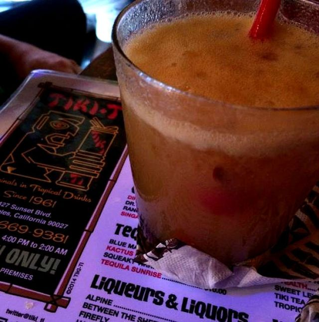Nui Nui made with Lost Spirits 151 Cuban Style Rum at Tiki Ti
