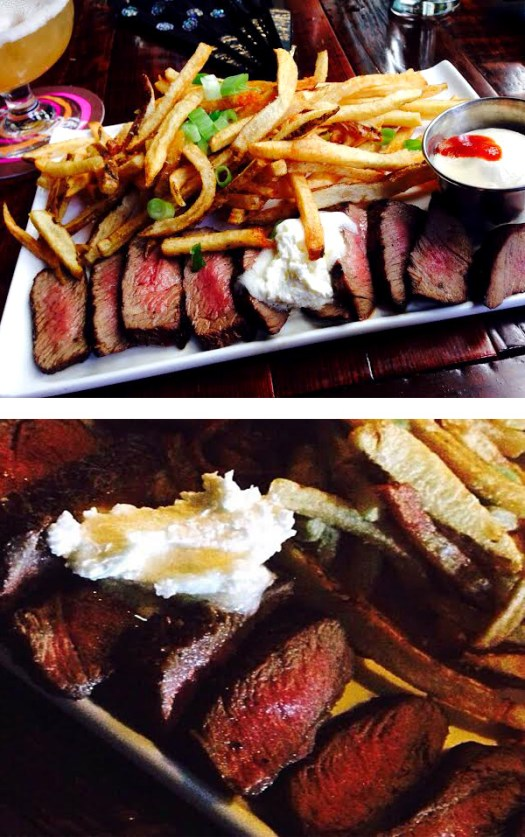 Steak frites collage