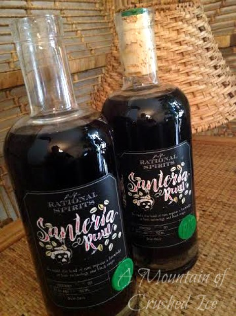 Santeria Rum Bottles for blogy