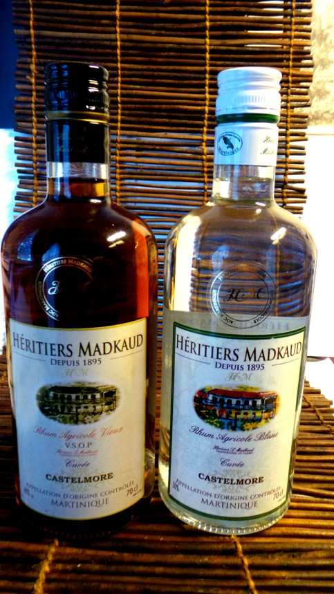 Madkaud rum bottles