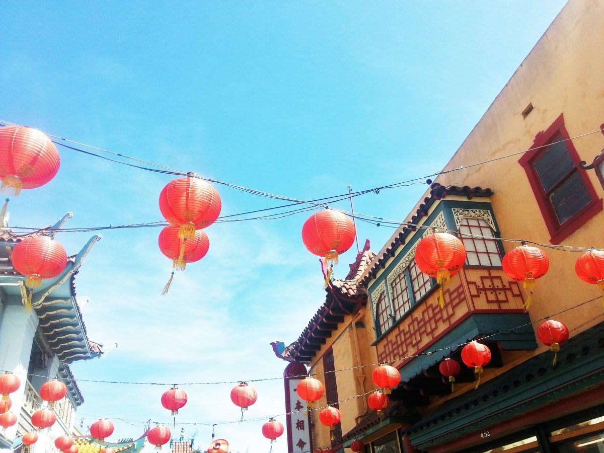 A Stroll Through Chinatown