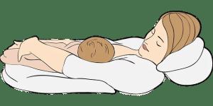 allaiter allongée