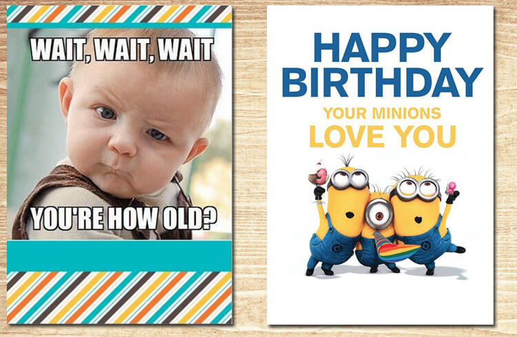 Funny Happy Birthday Cards Friends