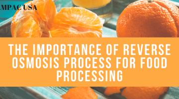 The Importance of Reverse Osmosis Process For Food Processing