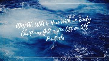 AMPAC USA Is Here With An Early Christmas Gift - 10% Off on all Products!