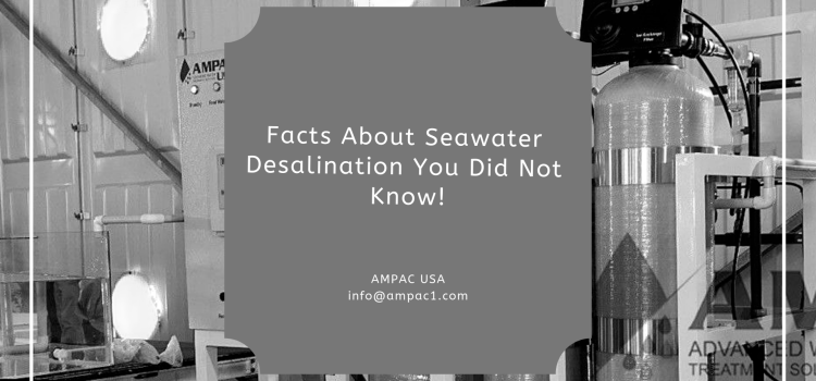 Facts About Seawater Desalination You Did Not Know