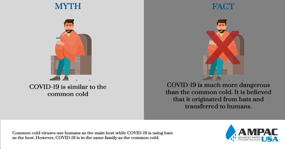 COVID-19 is similar to the common cold