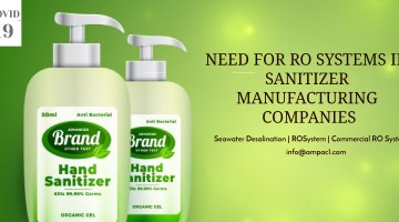 Need for RO Systems in Sanitizer Manufacturing Companies