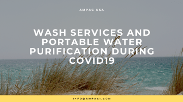 WASH Services and Portable Water Purification During COVID19