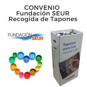 Convenio Fundación SEUR para la recogida de tapones