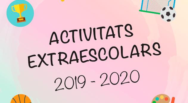 Extraescolars 2019/20