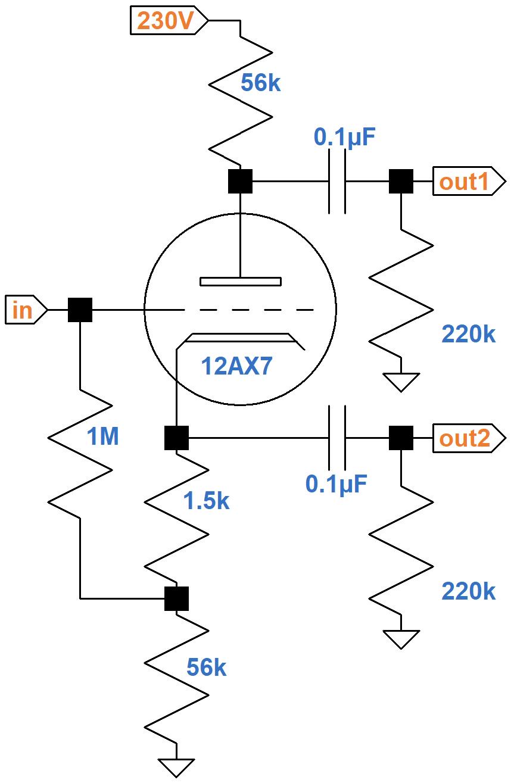 Fender Deluxe 5e3 Circuitysis