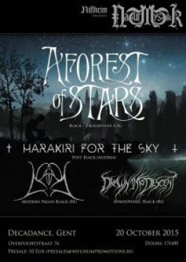a forest of stars decadance
