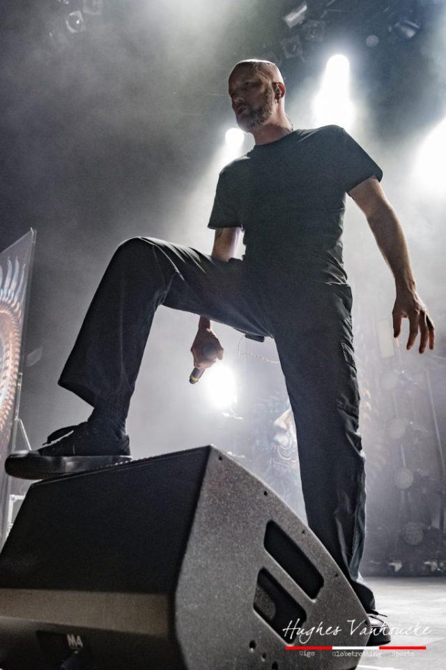 Jens Kidman - Meshuggah @ 013 - Tilburg - Nederland